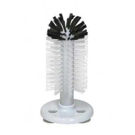 spazzole di lavaggio bicchieri con contenitore